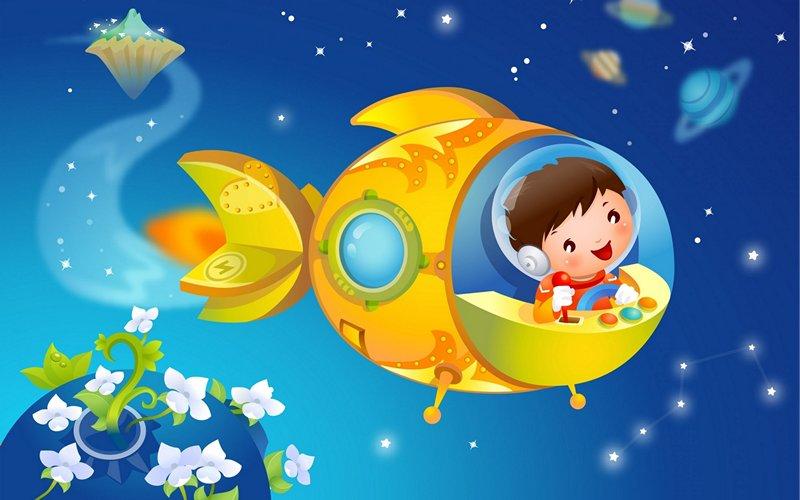 Сценарии детских путешествий по планетам